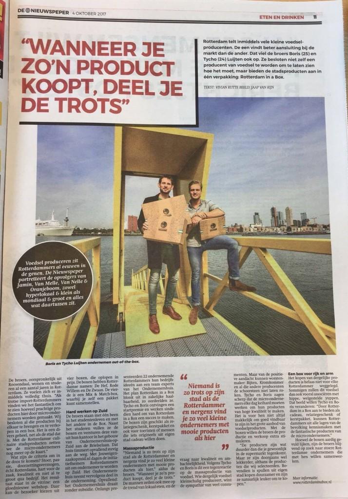 artikel rotterdam in a box